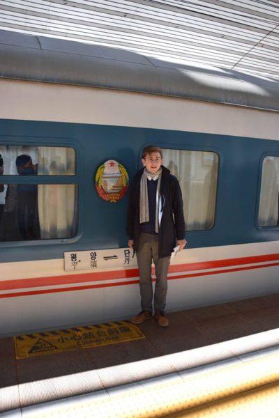 Rejse til Nordkorea tog