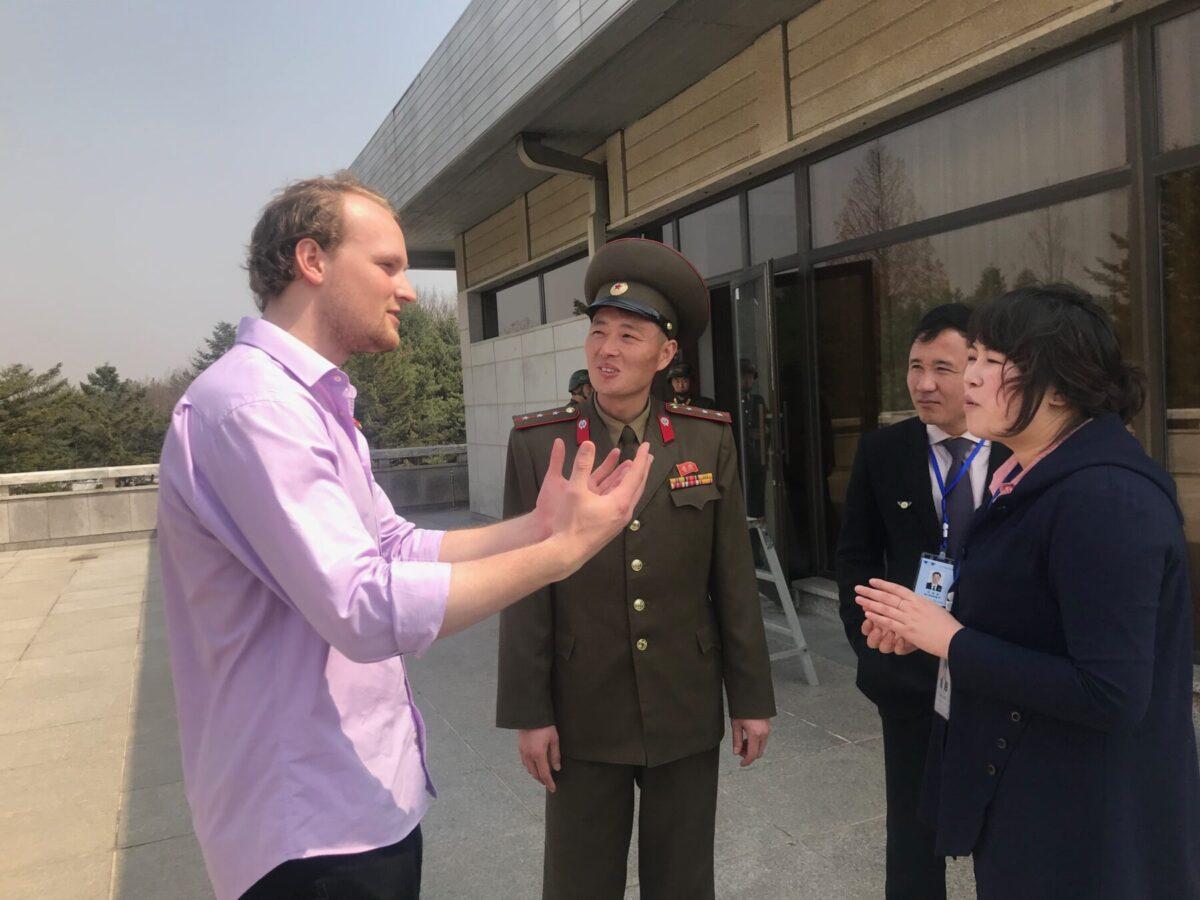 Har nordkoreanerne hørt om stormagternes møde?