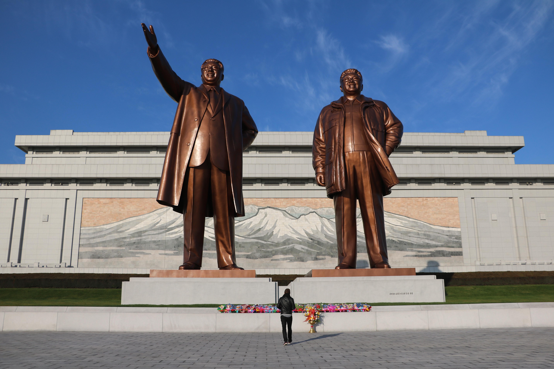 Rejse til Nordkorea Mansudae Grand Monument