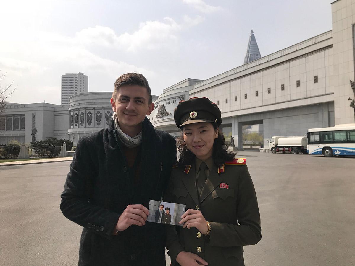 Er det muligt at møde en rigtig nordkoreaner?