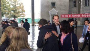 Rejse til Nordkorea afsked