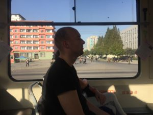 Rejse til Nordkorea Sporvogn
