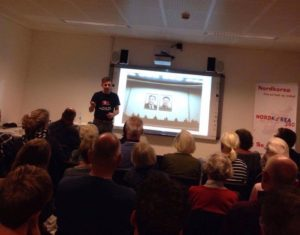 Presentation about North Korea Hvidovre Bibliotek
