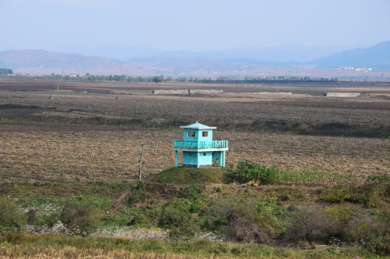 Landet i Nordkorea