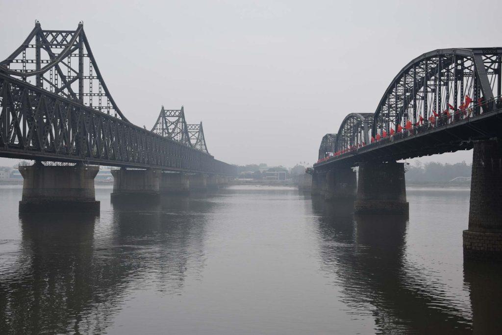 Dandong the broken bridge