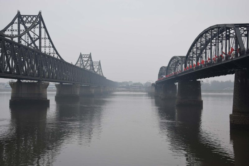 Dandong, the broken bridge