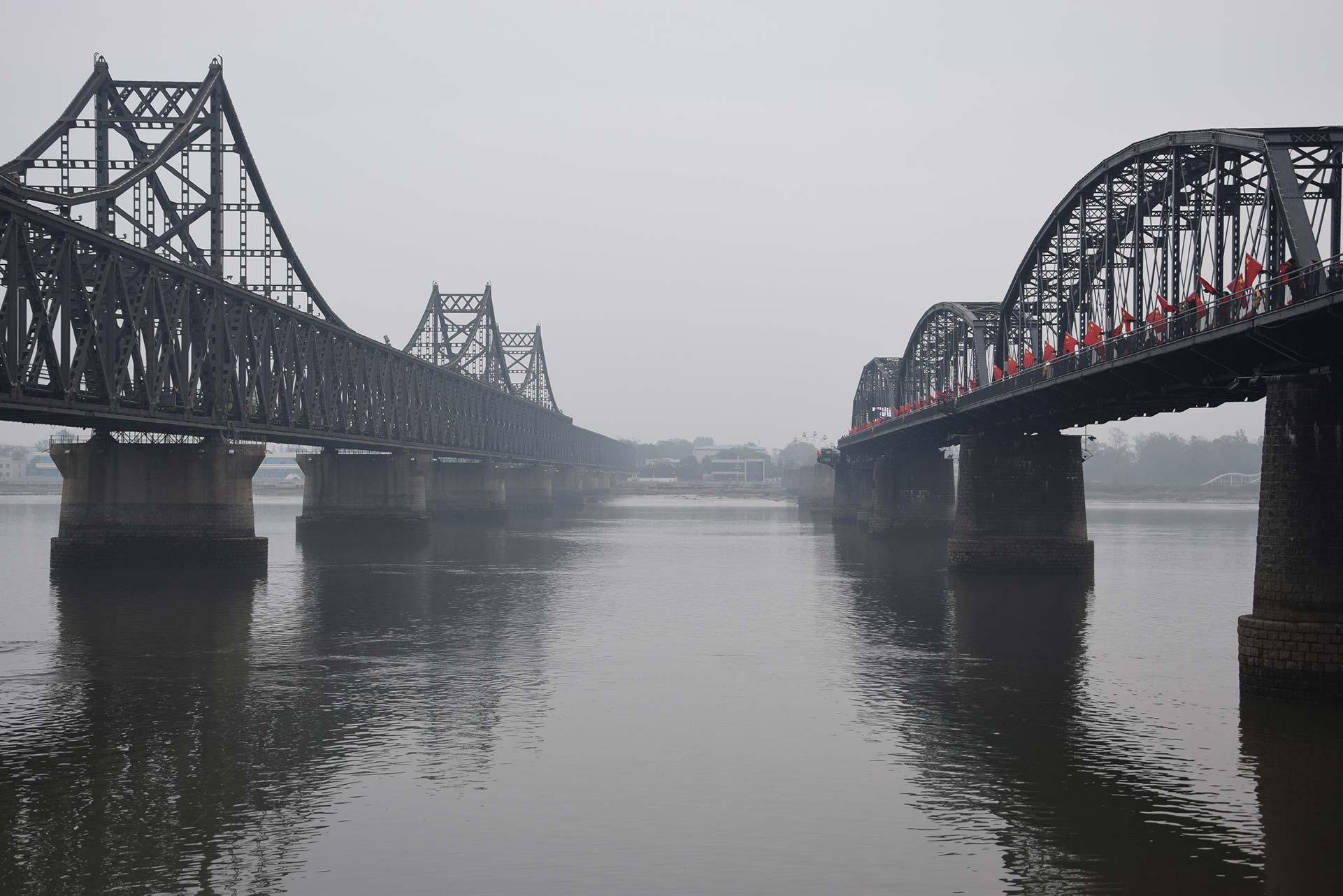 Dandong the broken bridge