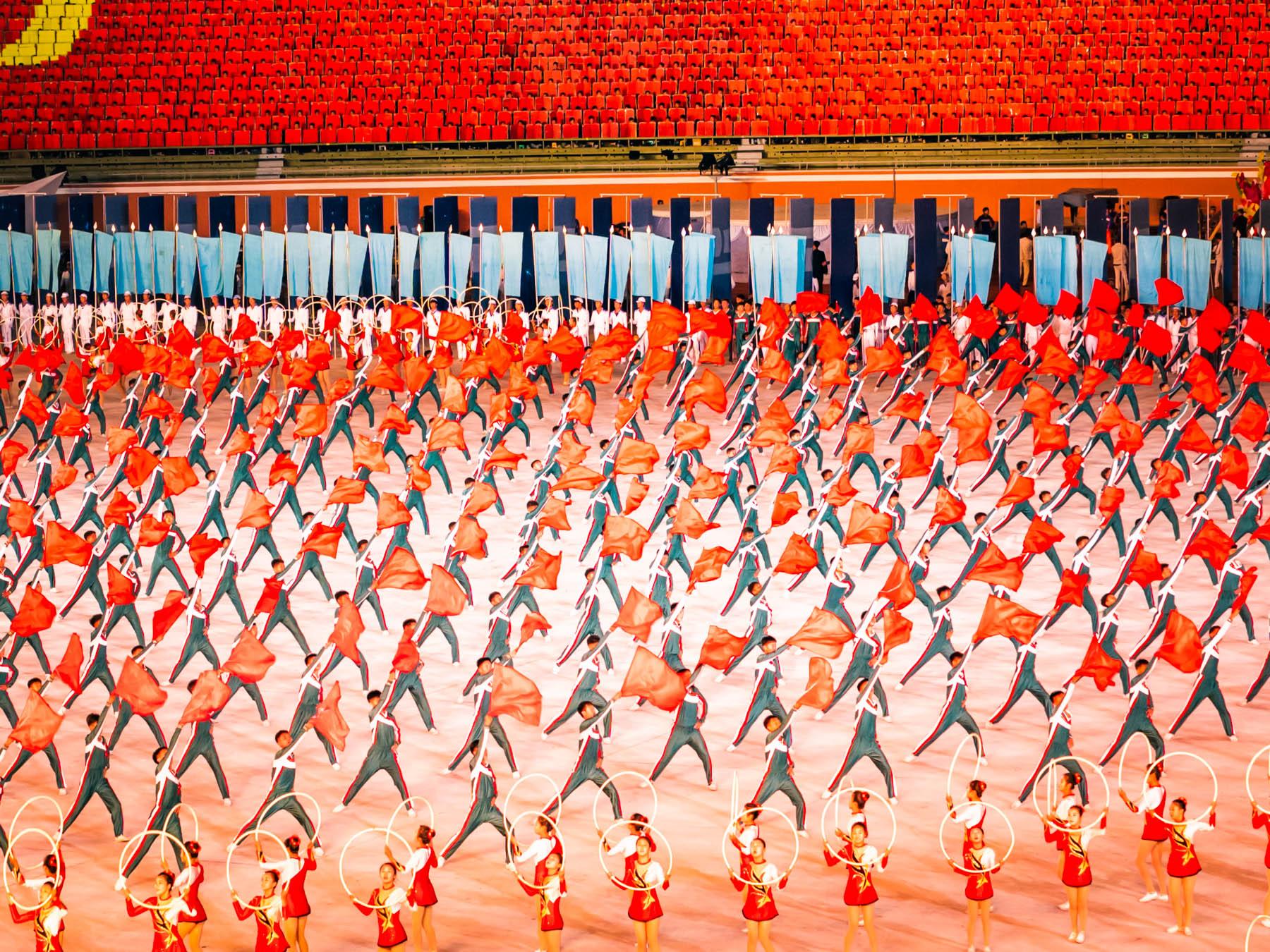 Mass Games i Nordkorea