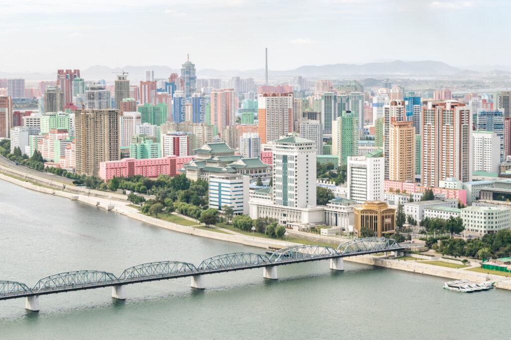 The capital of North Korea