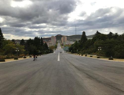 Min første gåtur i Nordkorea