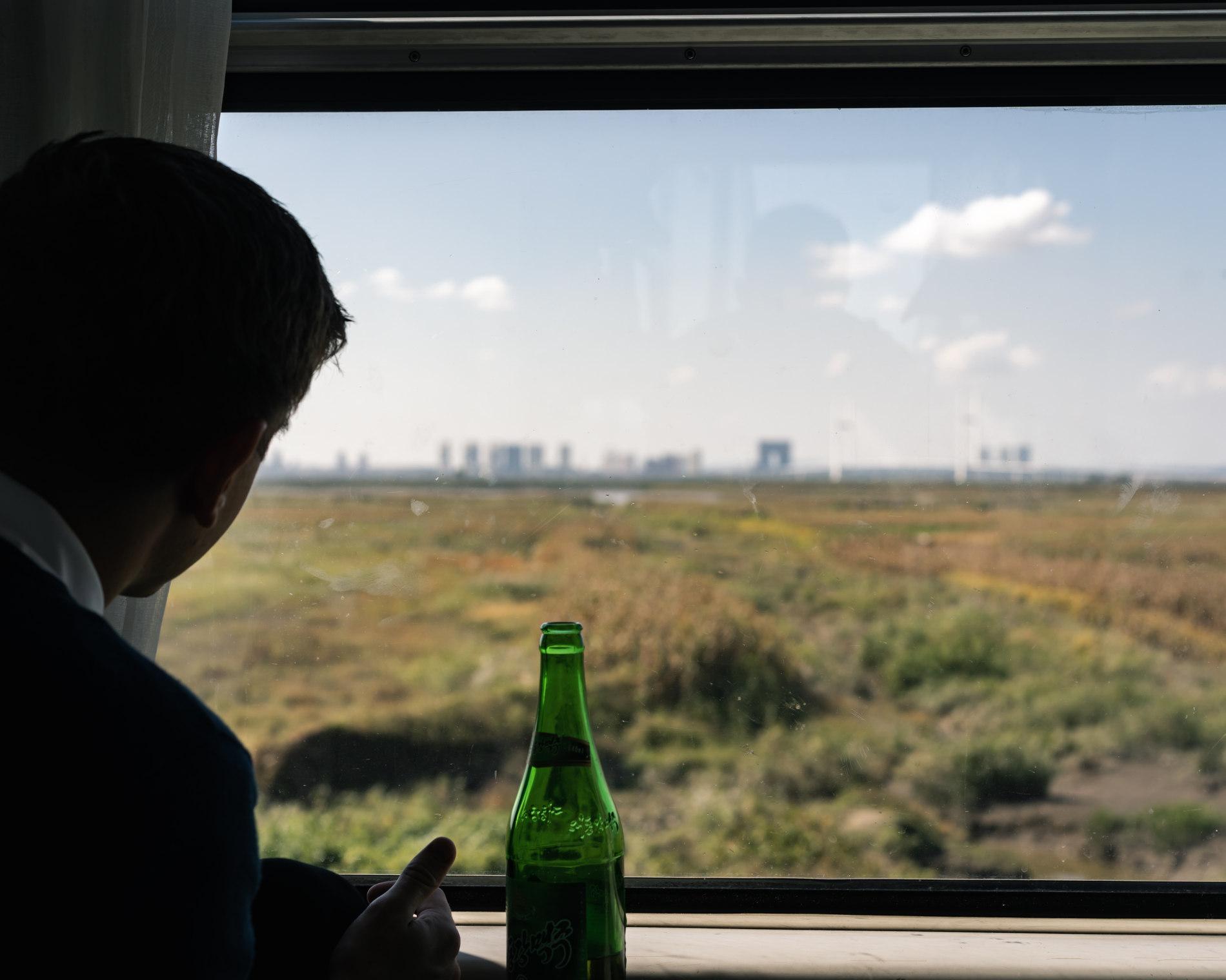 Tog rejse til Pyongyang
