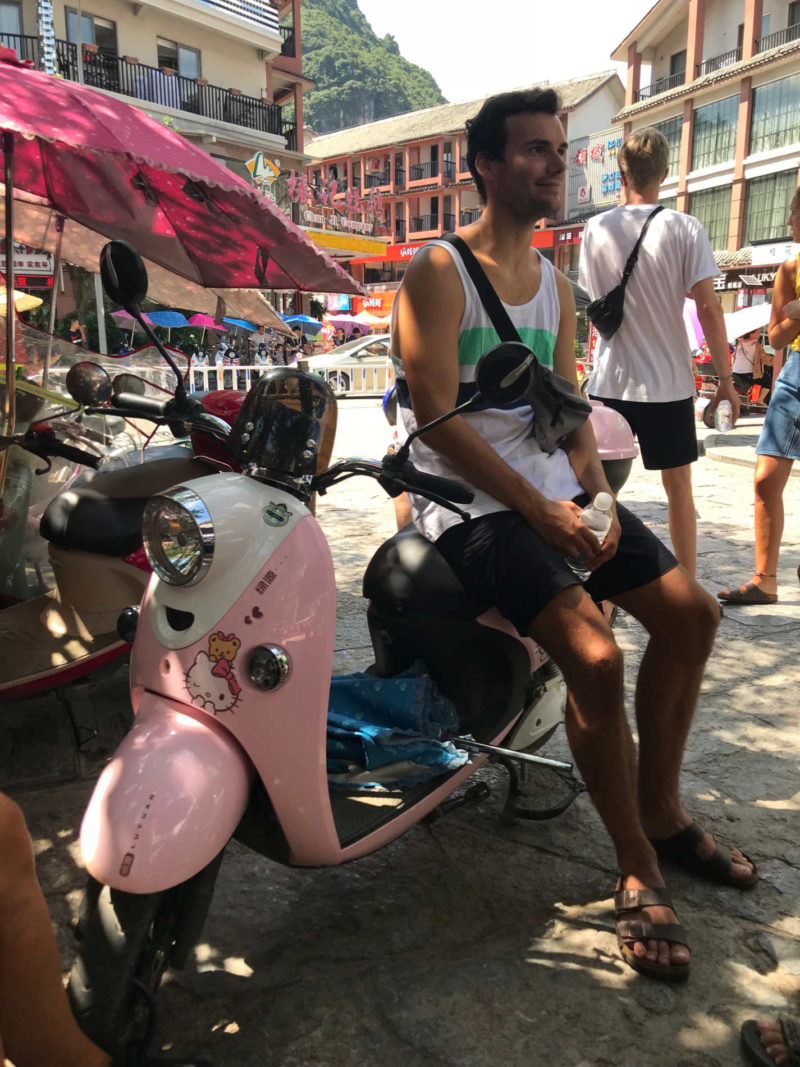 Scooter i Kina