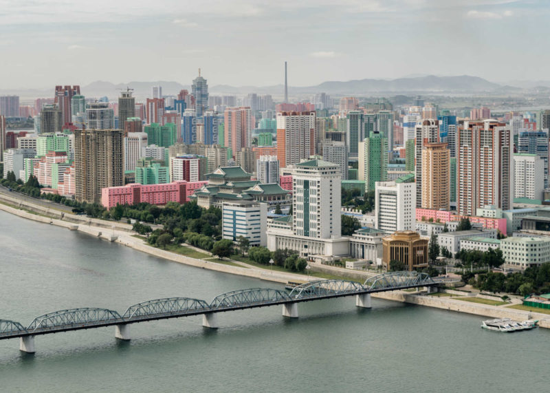 Pyongyang, the capital of North Korea