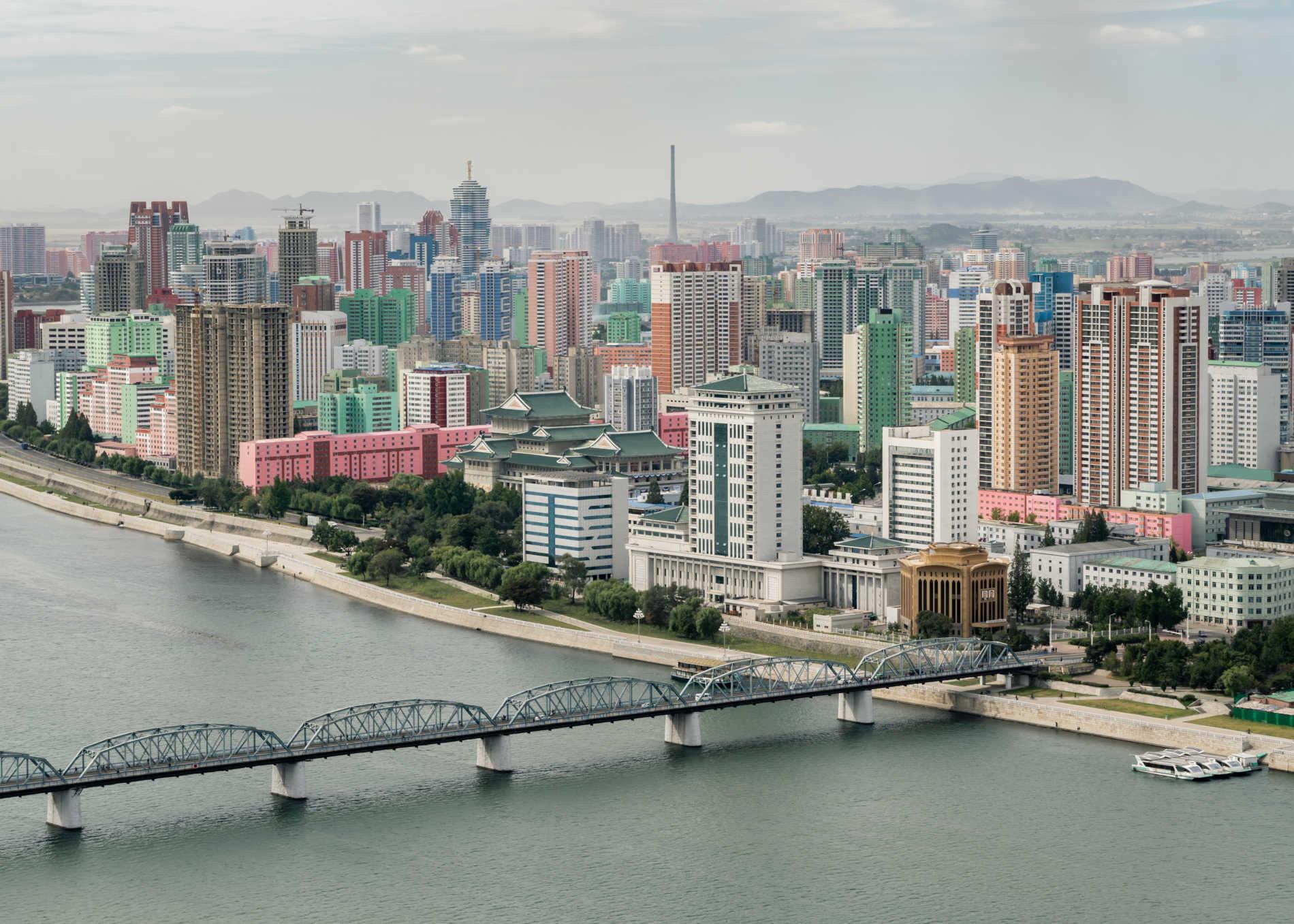 Pyongyang Nordkoreas hovedstad