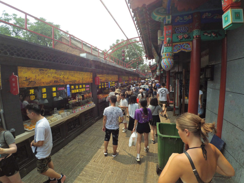 Wangfuijing Snack street I Beijing
