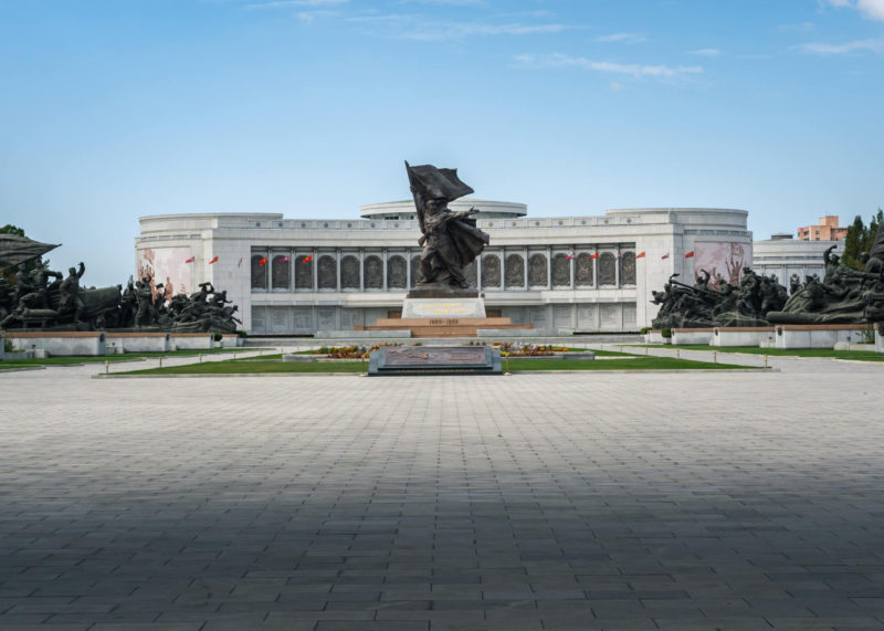 War museum in North Korea