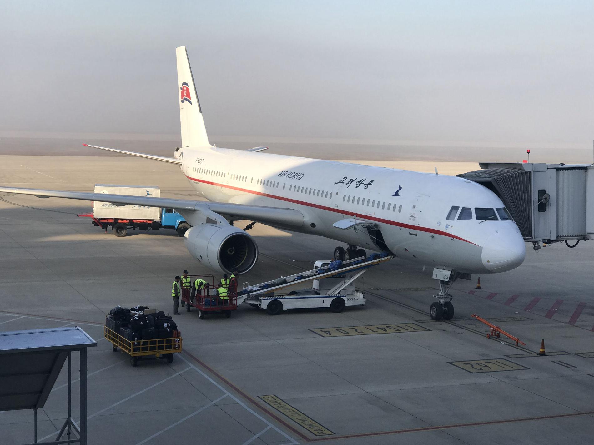 Sådan foregår det når man rejser via fly i Nordkorea