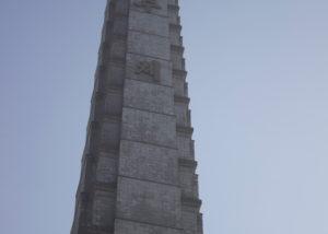 Juche Tower i Pyongyang