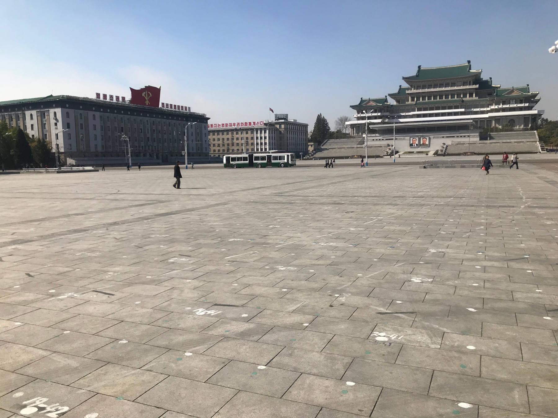 Kim Il Sung Square Nordkorea Pyongyang