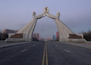 Reunification Monument Nordkorea