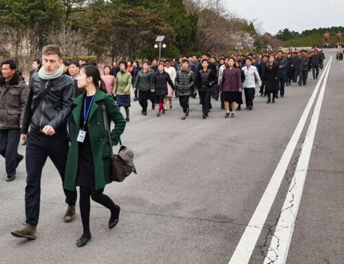 Den nordkoreanske stilhed