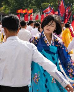 Mass Dance Nordkorea