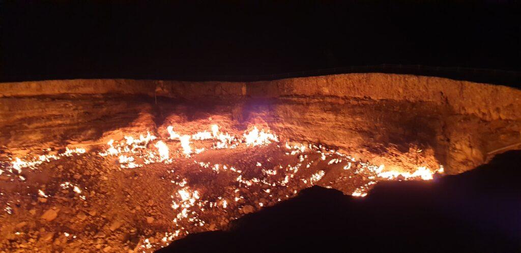 Porten til helvede i Darvaza