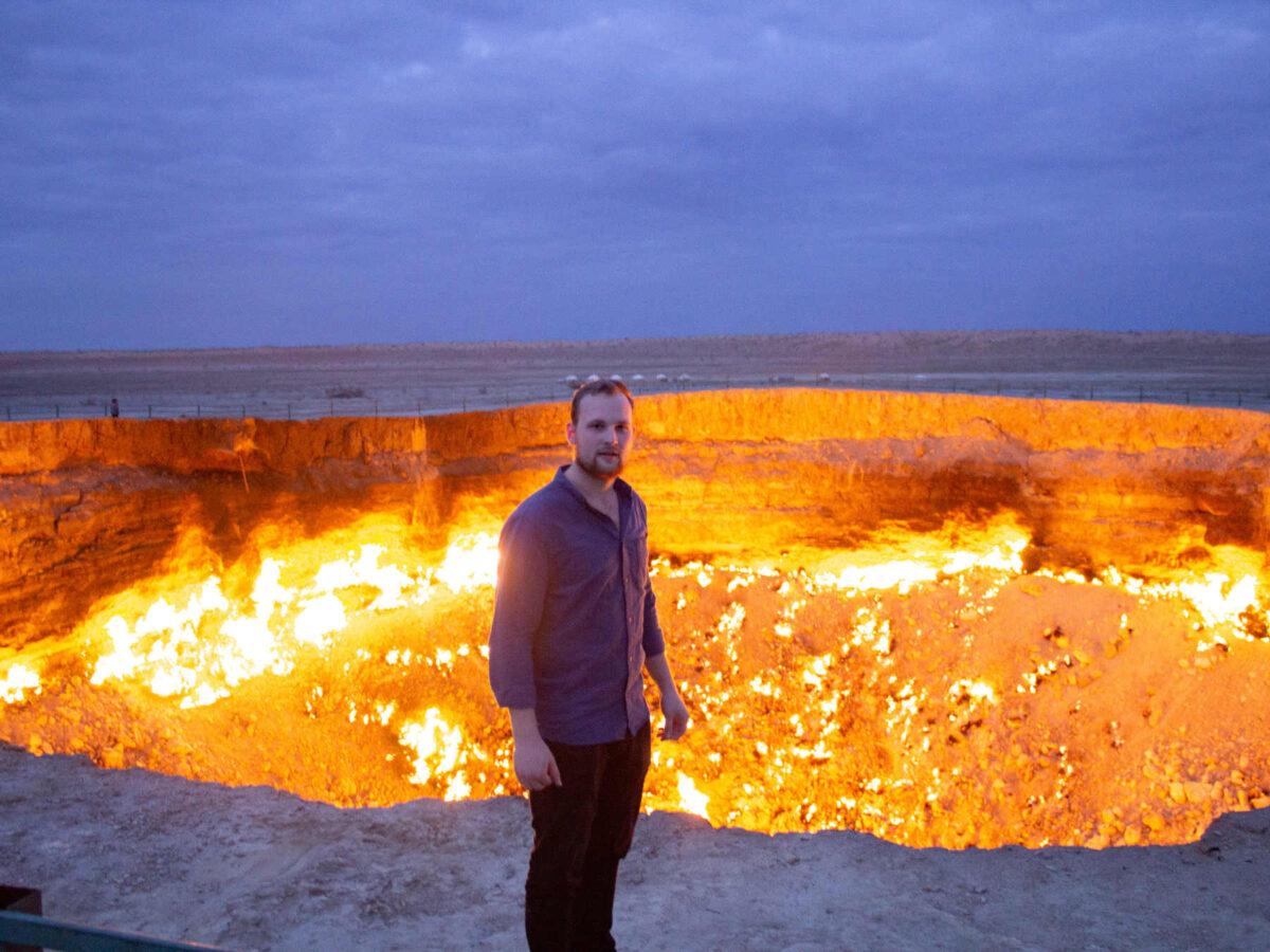 En nat ved helvedes stille flammer
