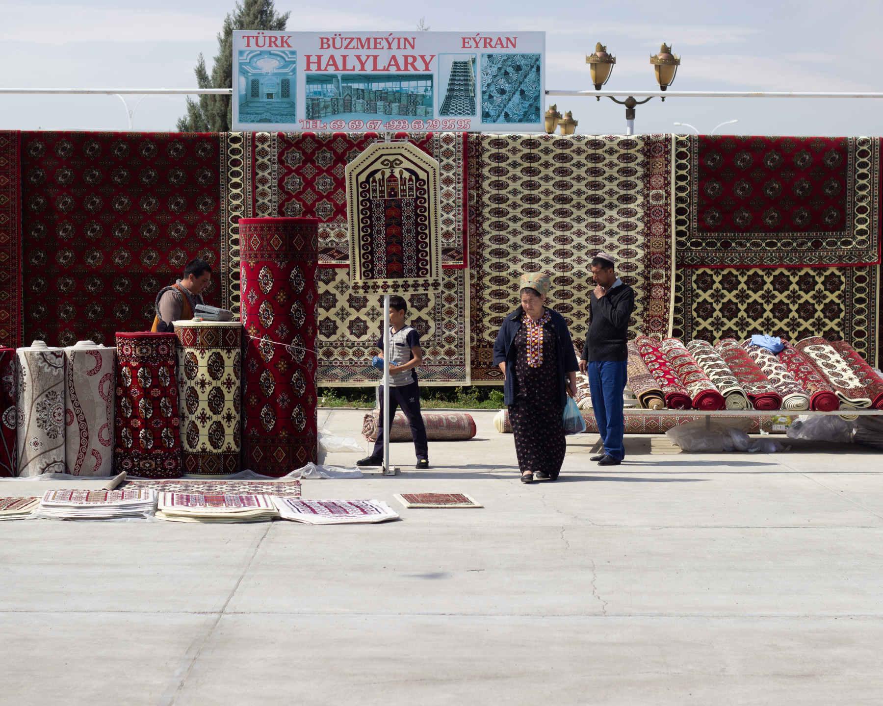 Turkmenistan marked