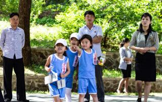 Nordkorea børn