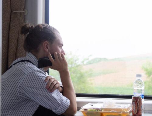 På rejsen til Pyongyang