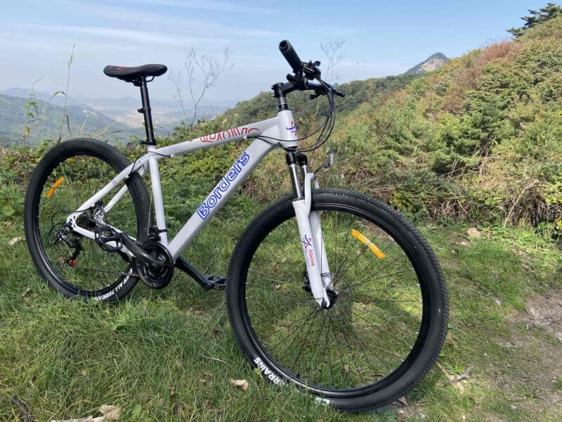 Cykel Nordkorea rejse
