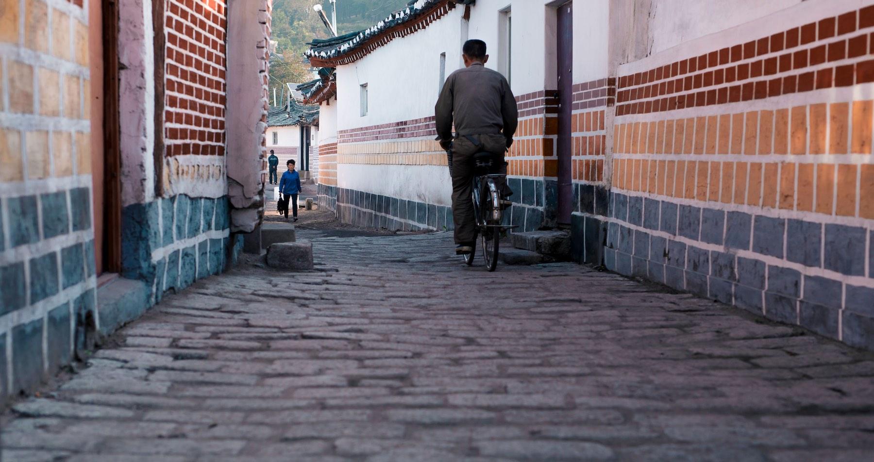 Cykelrejse i Nordkorea