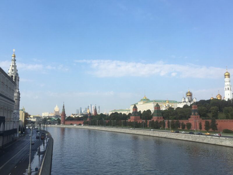 Moscow boat trip