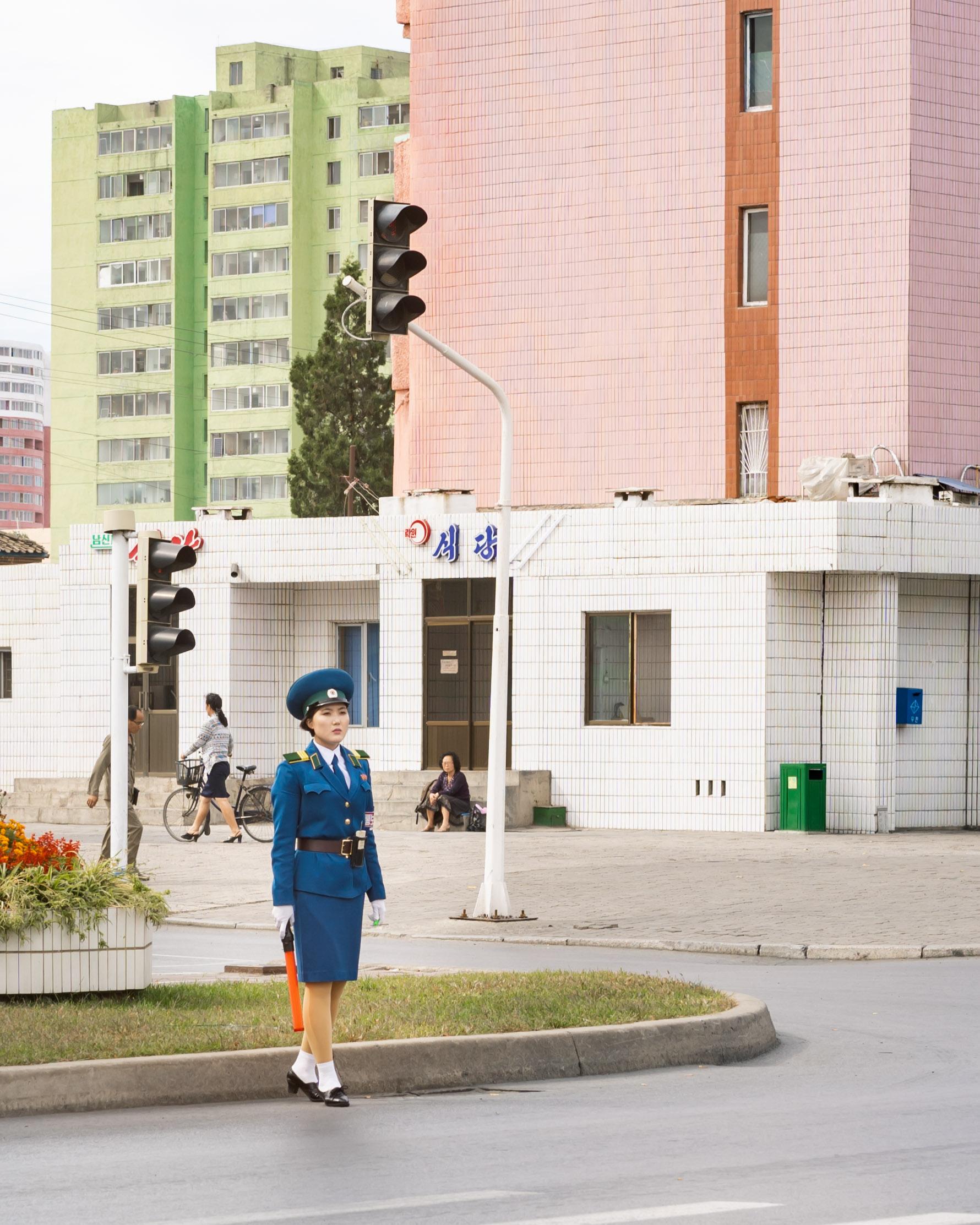 Pyongyang Trafikdame