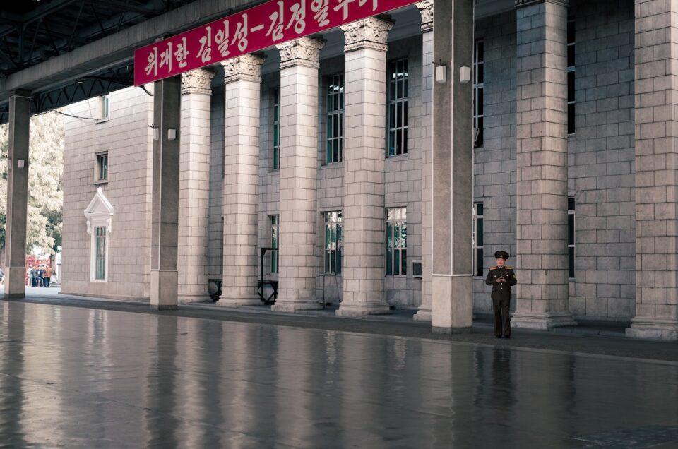 Hvordan det føles at krydse grænsen til Nordkorea