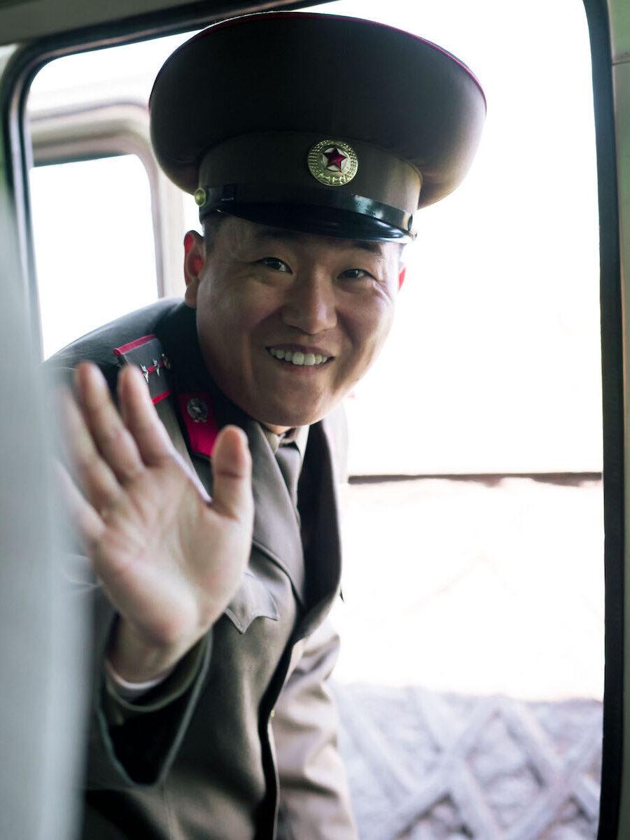 Nordkoreansk soldat