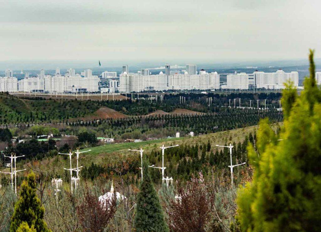 Asjkhabad hovedstad i Turkmenistan Verdens hvideste by