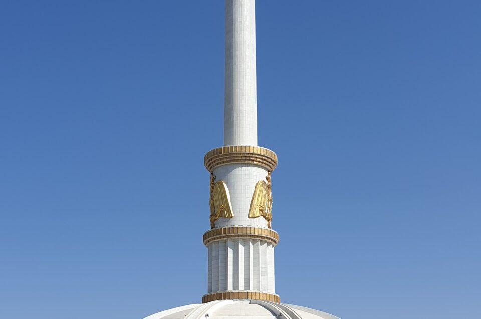 Selvstændighedsmonument i Turkmenistan