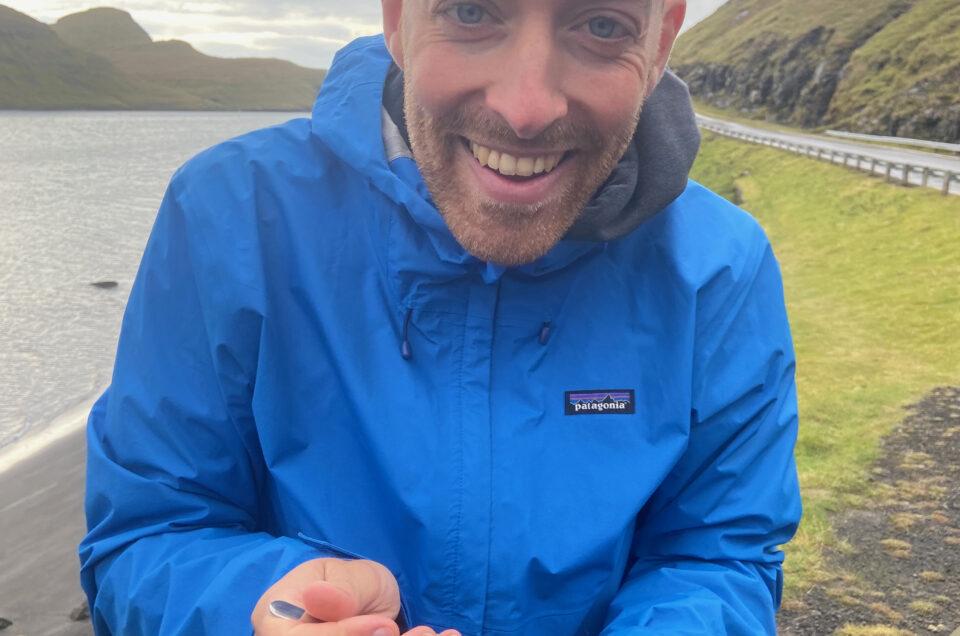 Podcast: Casper fisker på Færøerne