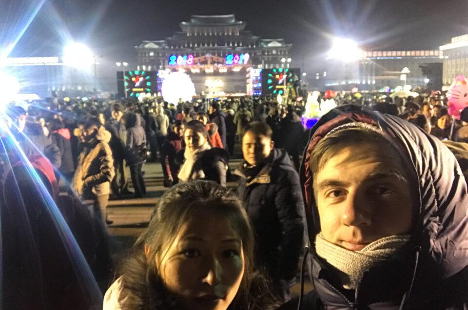 Podcast: Jonas hopper ind i det nye år i Nordkorea